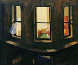 Night Windows 1928 - Edward Hopper