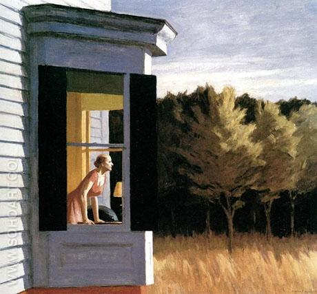 Cape Cod Morning, 1950 - Edward Hopper reproduction oil painting