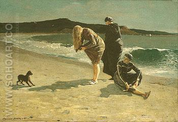 Eaglehead   High Tide  The Bathers - Winslow Homer reproduction oil painting