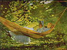 Sunlight and Shadow 1872 - Winslow Homer reproduction oil painting