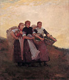 Hark the Lark 1882 - Winslow Homer reproduction oil painting