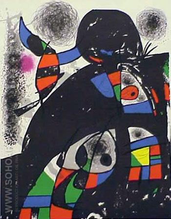 San Lazzaro - Joan Miro reproduction oil painting