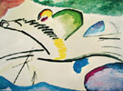 Lyric Man on a Horse - Wassily Kandinsky reproduction oil painting