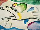 Lyric Man on a Horse - Wassily Kandinsky
