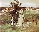 Hide and Seek 1873 - Berthe Morisot reproduction oil painting