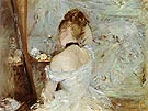 Lady at her Toilet 1875 - Berthe Morisot reproduction oil painting