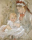 Julie with Her Nurse 1880 - Berthe Morisot