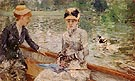 A Summers Day 1879 - Berthe Morisot