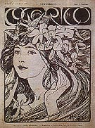 Cocorico 1899 - Alphonse Mucha reproduction oil painting