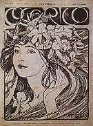 Cocorico 1899 - Alphonse Mucha