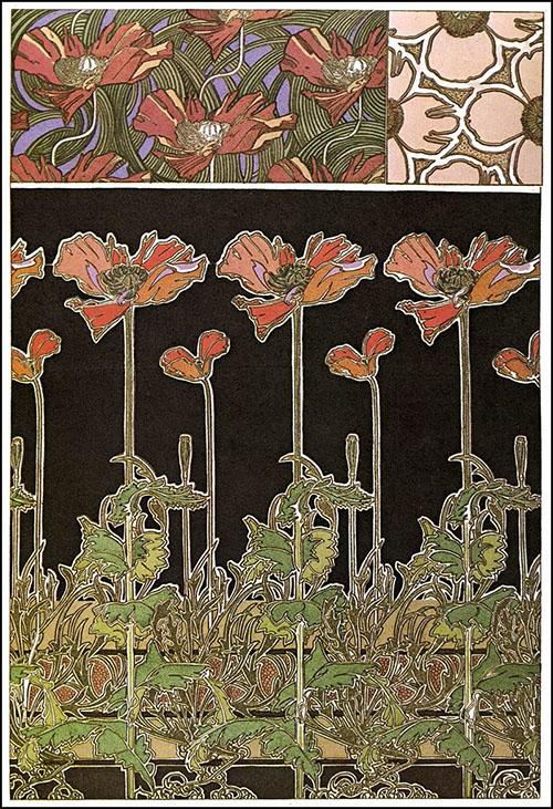 Documents Decoratifs 1902 - Alphonse Mucha reproduction oil painting