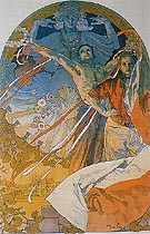 Sokol Festival 1925 - Alphonse Mucha reproduction oil painting