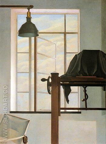 View of New York 1934 - Charles Sheeler reproduction oil painting