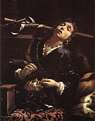 Herodias with the Head of St John the Baptist - Francesco del Cairo reproduction oil painting