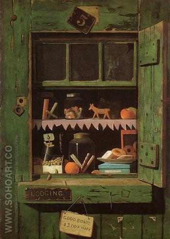The Poor Man's Store 1885 - John Frederick Peto reproduction oil painting