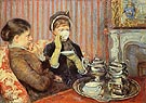 The Tea c1879 - Mary Cassatt