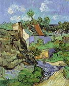 House at Auvers 1890 - Vincent van Gogh reproduction oil painting