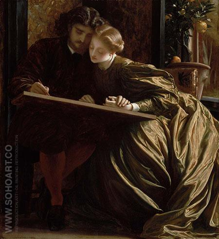Painter's Honeymoon 1864 - Frederick Lord Leighton reproduction oil painting