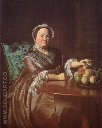 Mrs Ezekial Goldthwait 1771 - John Singleton Copley reproduction oil painting