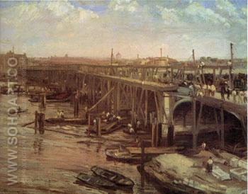 The Last of Westminster 1862 - James McNeill Whistler reproduction oil painting