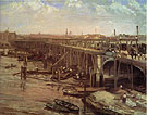 The Last of Westminster 1862 - James McNeill Whistler