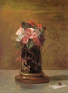 Vase of Flowers 1864 - John La Farge