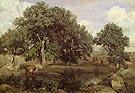 Forest Fontainbleau c1846 - Jean-baptiste Corot