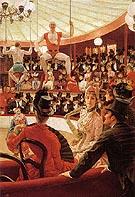 Women of Paris The Circus Lover c1883 - James Tissot