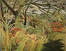 The Snake Charmer 1907 - Henri Rousseau reproduction oil painting