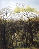 Rendezvous in the Forest 1889 - Henri Rousseau reproduction oil painting