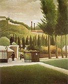 Toll Station 1890 - Henri Rousseau reproduction oil painting