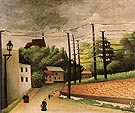 View of Malakoff 1908 - Henri Rousseau