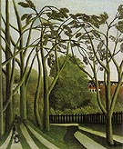 Spring in the Bievre Valley 1909 - Henri Rousseau reproduction oil painting