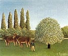 The Pasture 1910 - Henri Rousseau