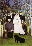 A Country Wedding - Henri Rousseau