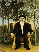 Portrait of Joseph Brummer 1906 - Henri Rousseau reproduction oil painting