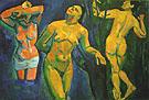 Bathers 1907 - Andre Derain