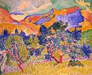 Mountains Collioure 1905 - Andre Derain
