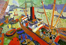 Pool of London 1906 - Andre Derain