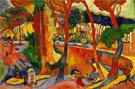 Turning Road L'Estaque - Andre Derain