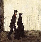 Going for a Walk 1942 - L-S-Lowry