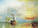 The Fighting Temeraire 1838 - Joseph Mallord William Turner reproduction oil painting