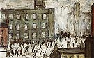 Mill Scene 1927 - L-S-Lowry
