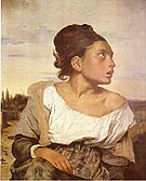 Valpincon Bather 1808 - Jean-Auguste-Dominique-Ingres reproduction oil painting