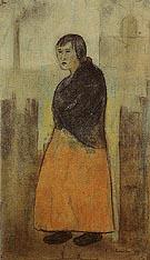 Mill Worker 1912 - L-S-Lowry
