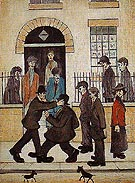 A Fight 1935 - L-S-Lowry