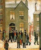 The Arrest 1927 - L-S-Lowry