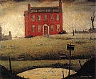 The Empty House 1934 - L-S-Lowry