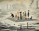 The Raft 1956 - L-S-Lowry