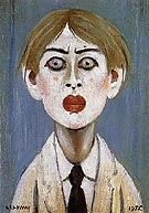 Portrait of a Young Man 1955 - L-S-Lowry